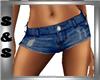 Hot Pants Blue