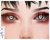 ✘ Simple eyebrows.