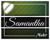 *NK* Samantha (Sign)