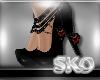 *SK*Dark Heart Heels