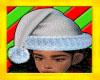 Silver Santa Hat