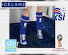 ICELAND KSI socks