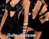 [E]:.Black Shimmer dress