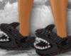 F. lv shark slippers