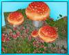 Mushroom Patch Seat