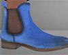 Blue Chelsea Boots (M)