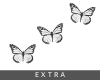 𝕎. Butterflies white