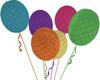 Pastel Animated Balloons