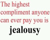 The highest compliment..