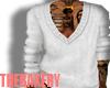 Hanes White Sweater