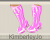 Go Go Boots Pink