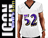 LG1 Football Mesh shirt