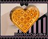 Heart Waffle Earrings