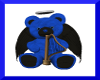 blue n black angel bear