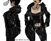 Crow \velvet Coat Top