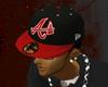 $UL$Red N Black A Hat