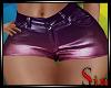 Metallic Shorts - Candy