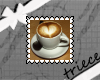 {T}coffee heart stamp