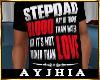 """a"""" StepDad Love T Blk"""