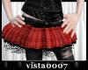 [V7] Short Red Skirt