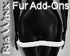 Sleek Fur Add-On Skirt