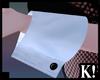 K| Black Bunny Cuffs