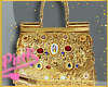 <P>Gold Diamond Bag