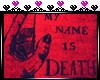 my name is death. cutout