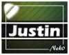 *NK* Justin (Sign)