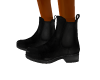 TEF B;LACK ANKLE BOOTS
