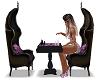 Purple lounge ChessTable