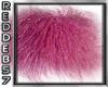 Purple Gothic Furry Rug