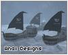 !-AD Frozen Viking Ships