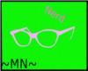 pink nerd glasses