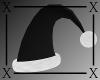 .X. Santa Baby Hat Black