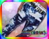 {r} Stem Blue Acid Jeans