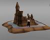 40% play sand castle