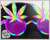 LL* Rainbow Weed Glasses