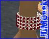 -JDM-Ruby Bracelet (R)