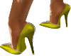 YELLOW LIME HIGH HEEL