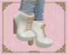 A: white boots