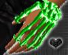 *Bone Green Hand Jewel L