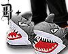 D+. Shark Slippers