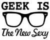 Geek Is Sexy Sticker
