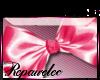 *R* Satin Bow Sticker