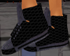 (SM)blk/grey gucci kicks