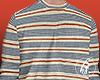 ♚ 80's Stripes Sweater