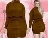 D : Brown Winter Dress