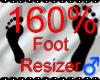 *M* Foot Resizer 160%