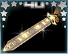 Gold Sparkle Sword